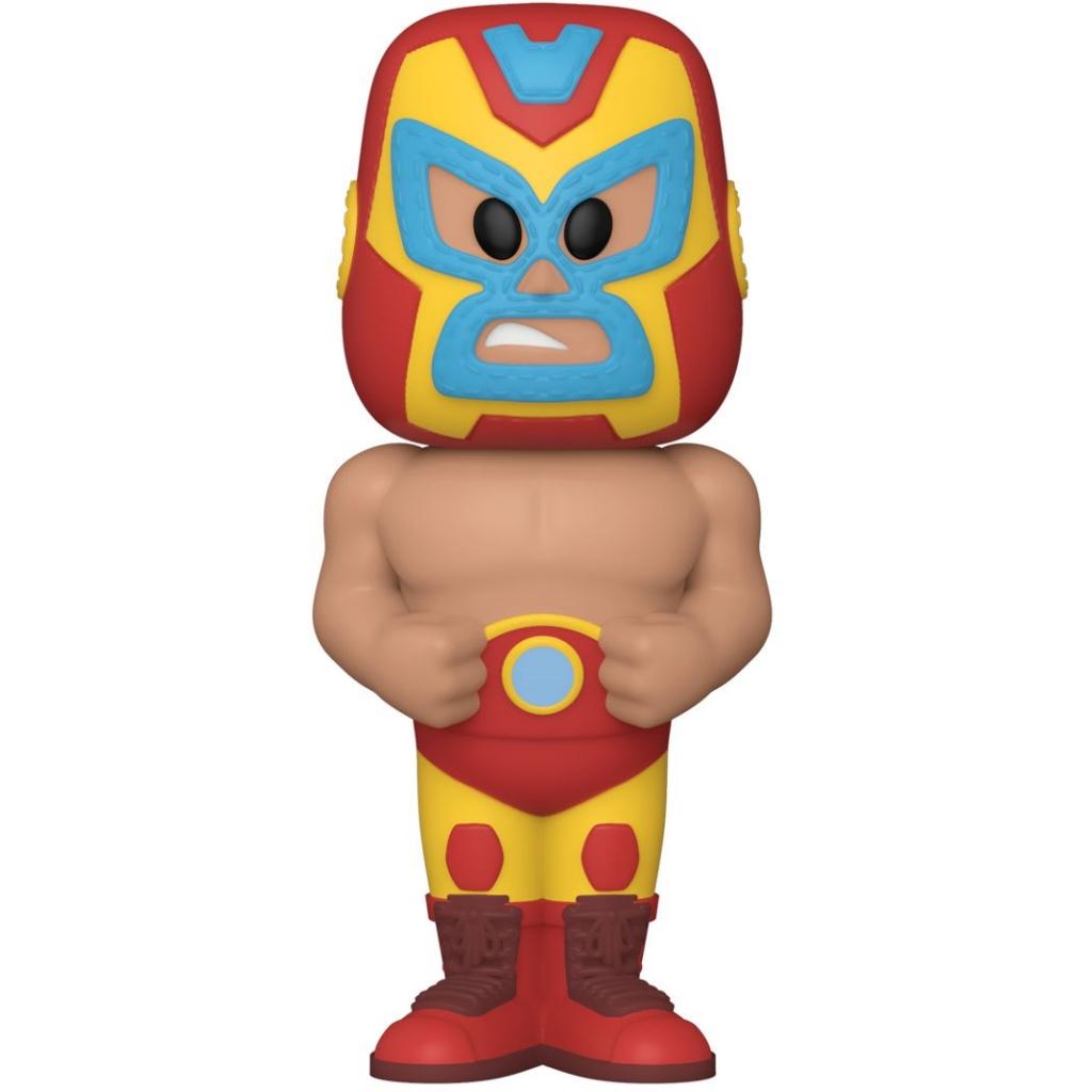 Funko Vinyl Soda - Marvel Luchadores - Iron Man