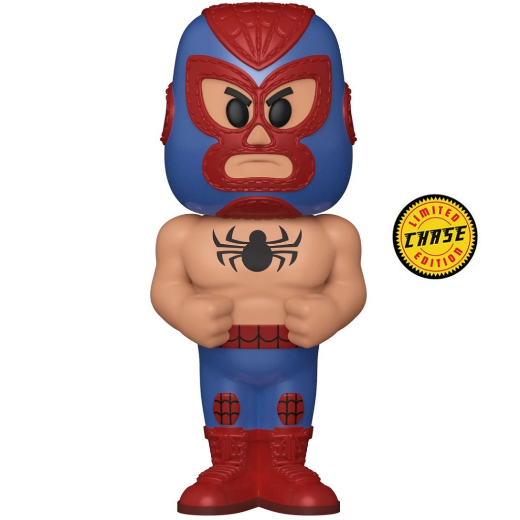 Funko Vinyl Soda - Marvel Luchadores - Spider-Man (Chase Figure)