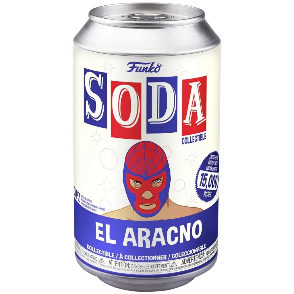 Funko Vinyl Soda - Marvel Luchadores - Spider-Man