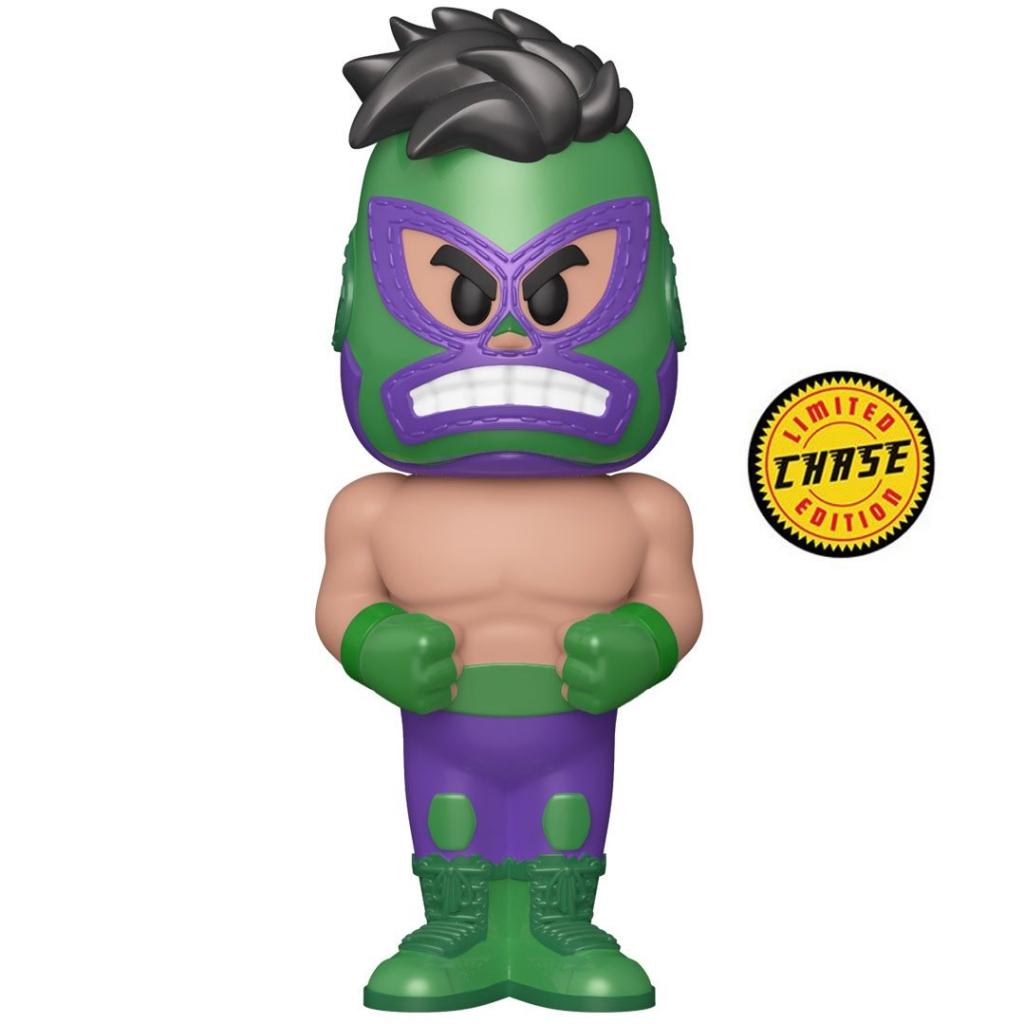 Funko Vinyl Soda - Marvel Luchadores - The Hulk (Chase Figure)
