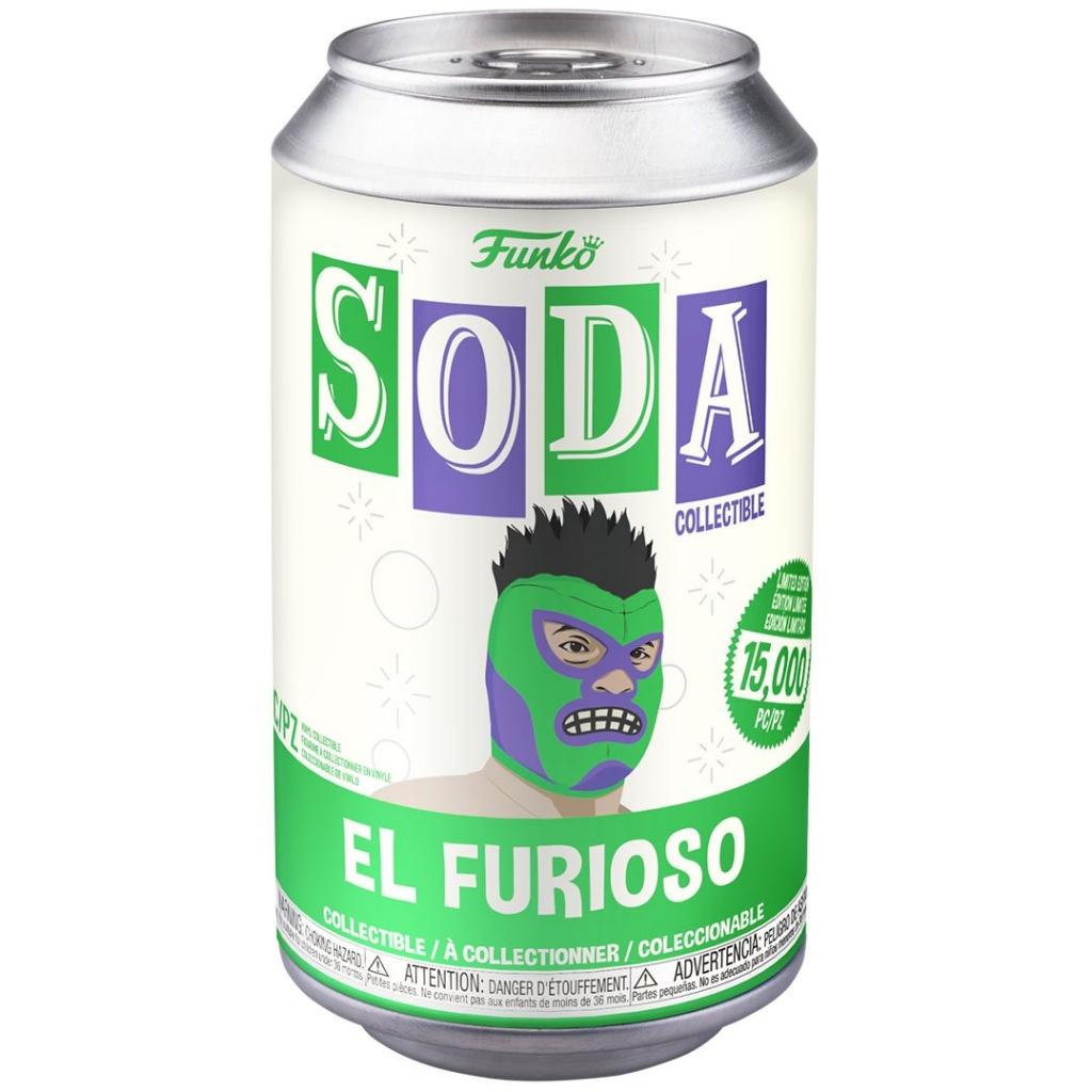 Funko Vinyl Soda - Marvel Luchadores - The Hulk