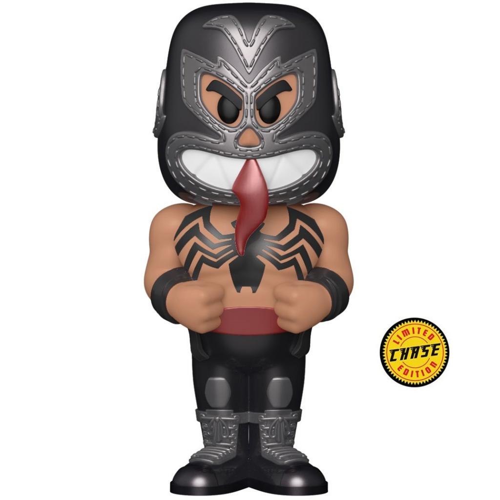 Funko Vinyl Soda - Marvel Luchadores - Venom (Chase Figure)