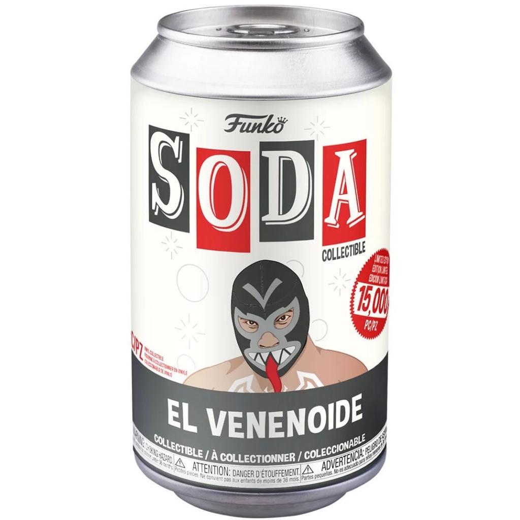 Funko Vinyl Soda - Marvel Luchadores - Venom