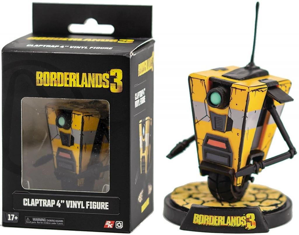 Borderland 3 Claptrap Vinyl Figure