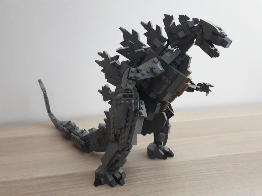 Custom Lego Godzilla