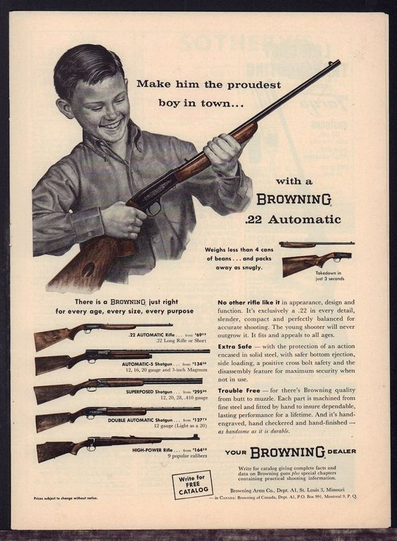 Browning Ad: Make Him The Proudest Boy In Town