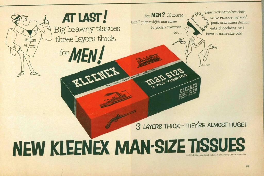 Kleenex Ad, 1956