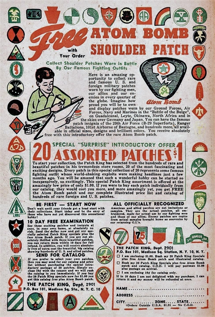 Patch King Ad