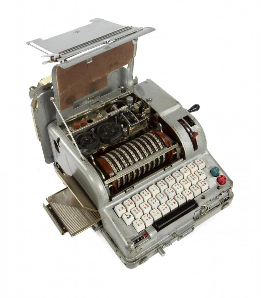 Soviet Fialka Code Machine