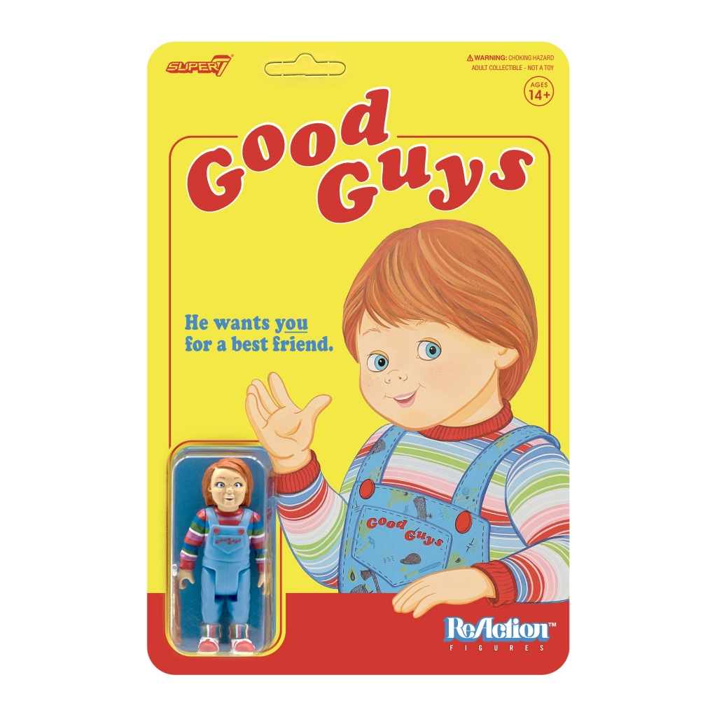 "Super7 Reaction Figure - Chucky ""Good Guys"" Figure"