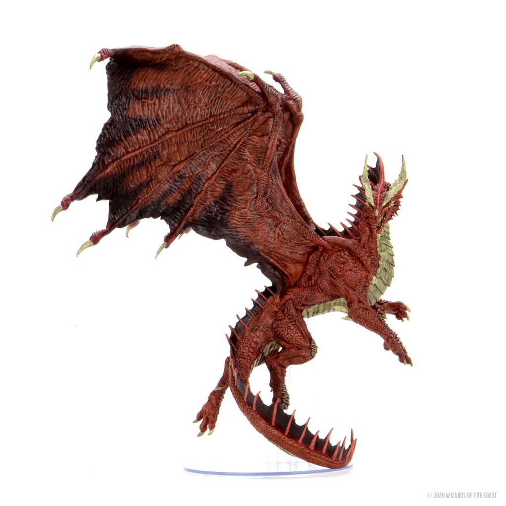 Dungeons & Dragons - Adult Red Dragon Figure