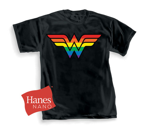 Wonder Woman Pride T-Shirt