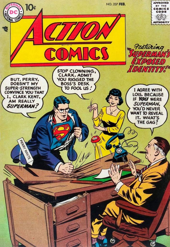 Action Comics No. 237, February 1958