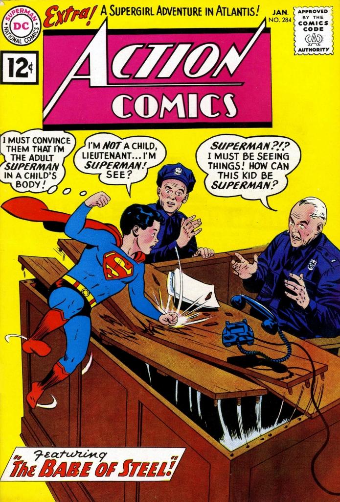 Action Comics No. 284, January 1962