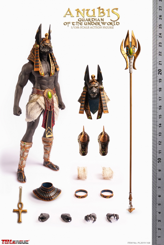 Anubis: Guardian of the Underworld 1/12 Scale Action Figure