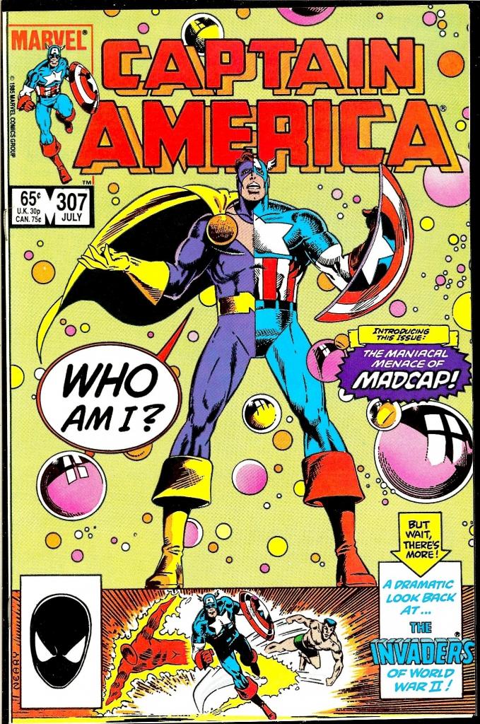 Captain America #307 - Who Am I?
