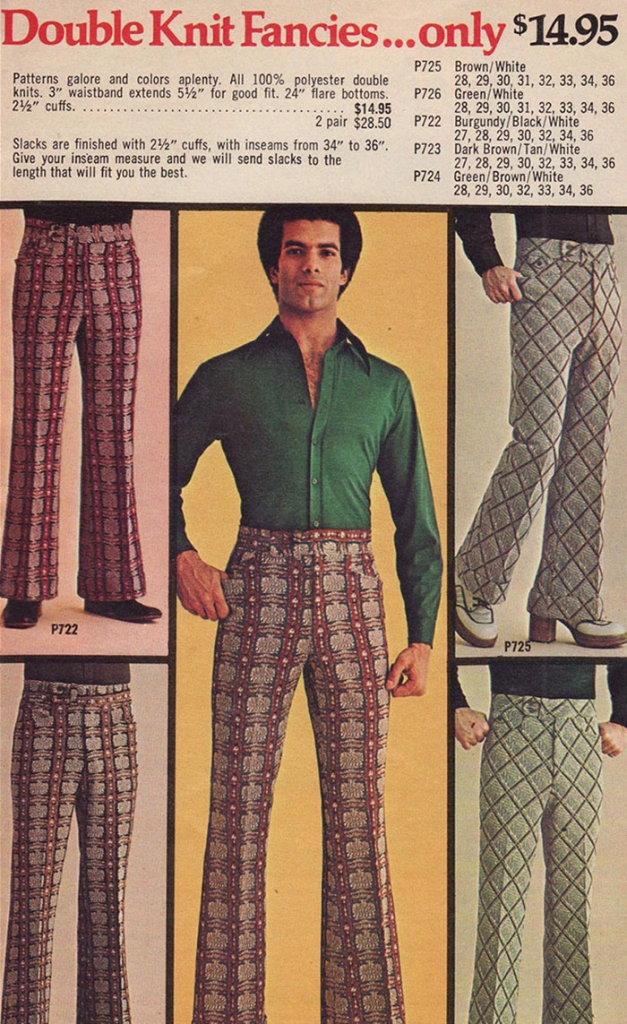 Double Knit Fancies Ad, 1970s