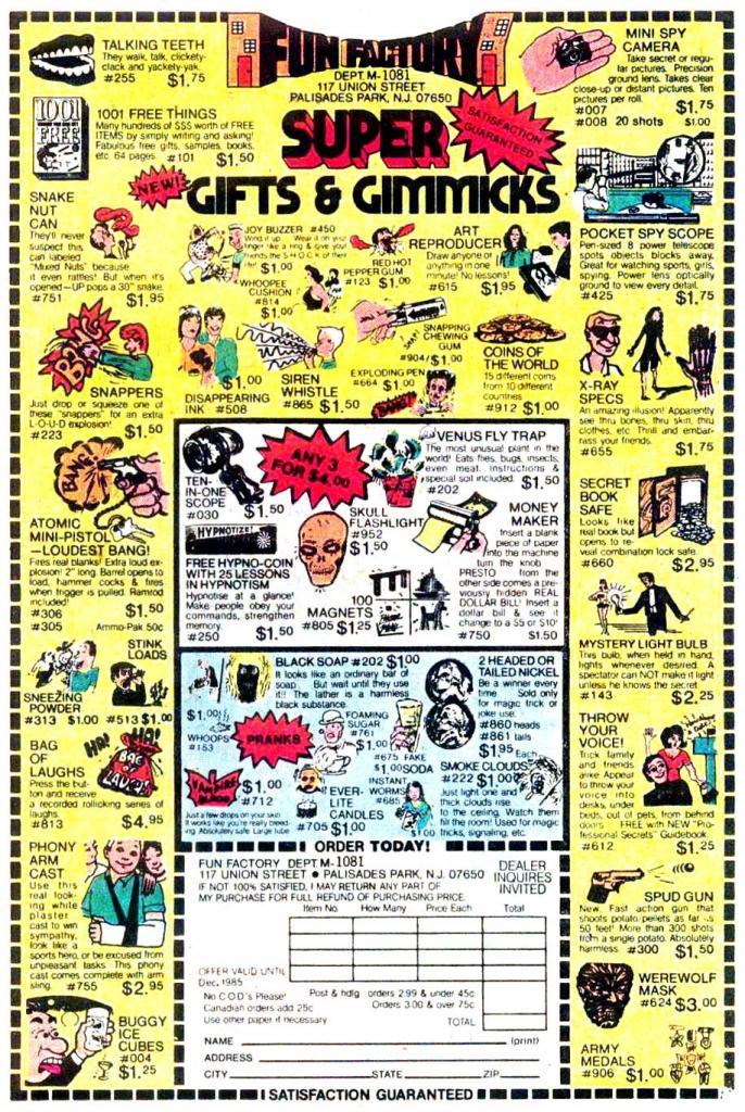 Fun Factory Ad, 1979