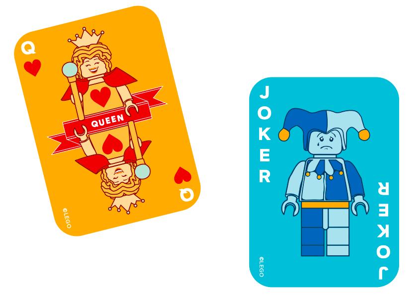 Lego Brick Playing Cards