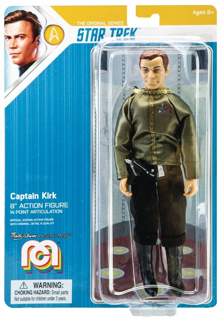 Mego Star Trek Action Figure - Captain Kirk (Dress Uniform)