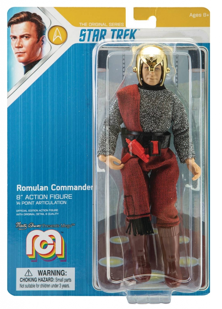 Mego Star Trek Action Figure - Romulan Commander