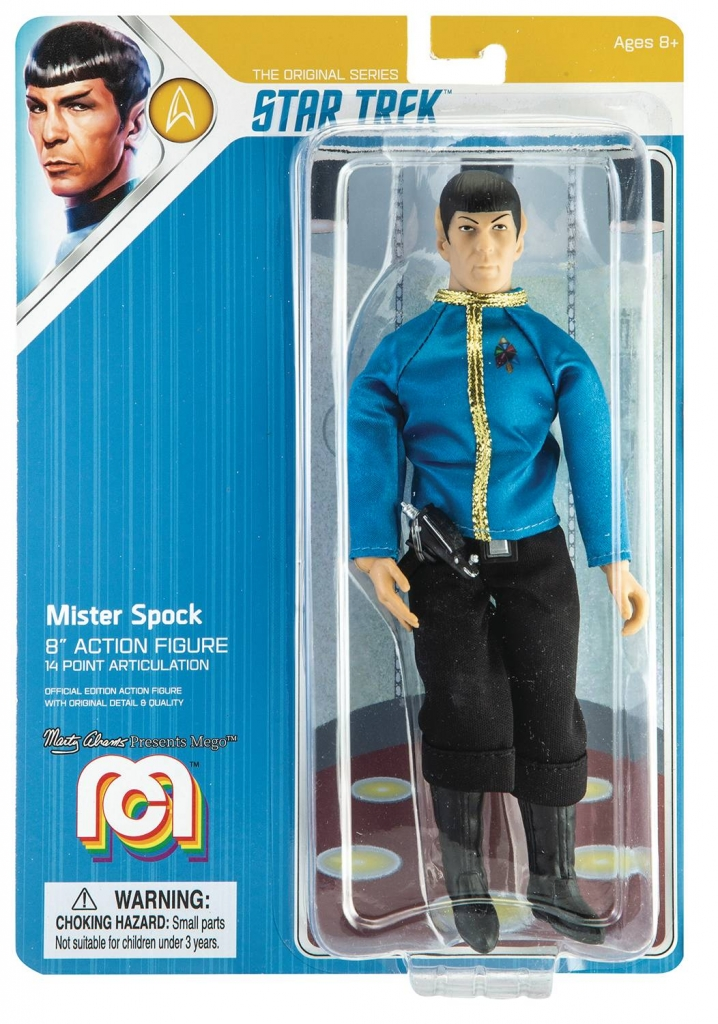 Mego Star Trek Action Figure - Spock (Dress Uniform)