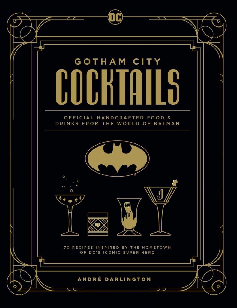 Gotham City Cocktails Book