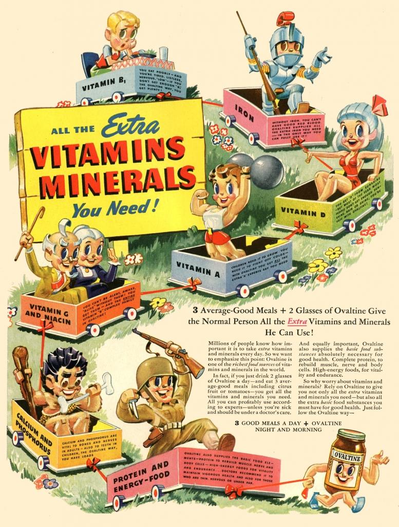 Ovaltine Ad, 1944