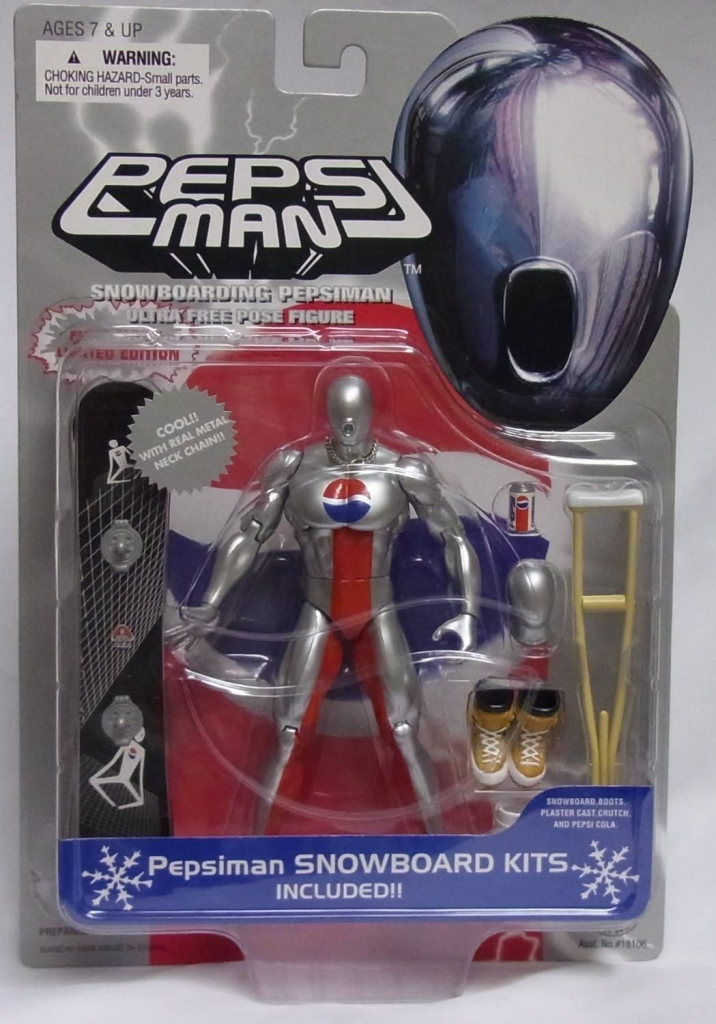 Pepsi Man Action Figure