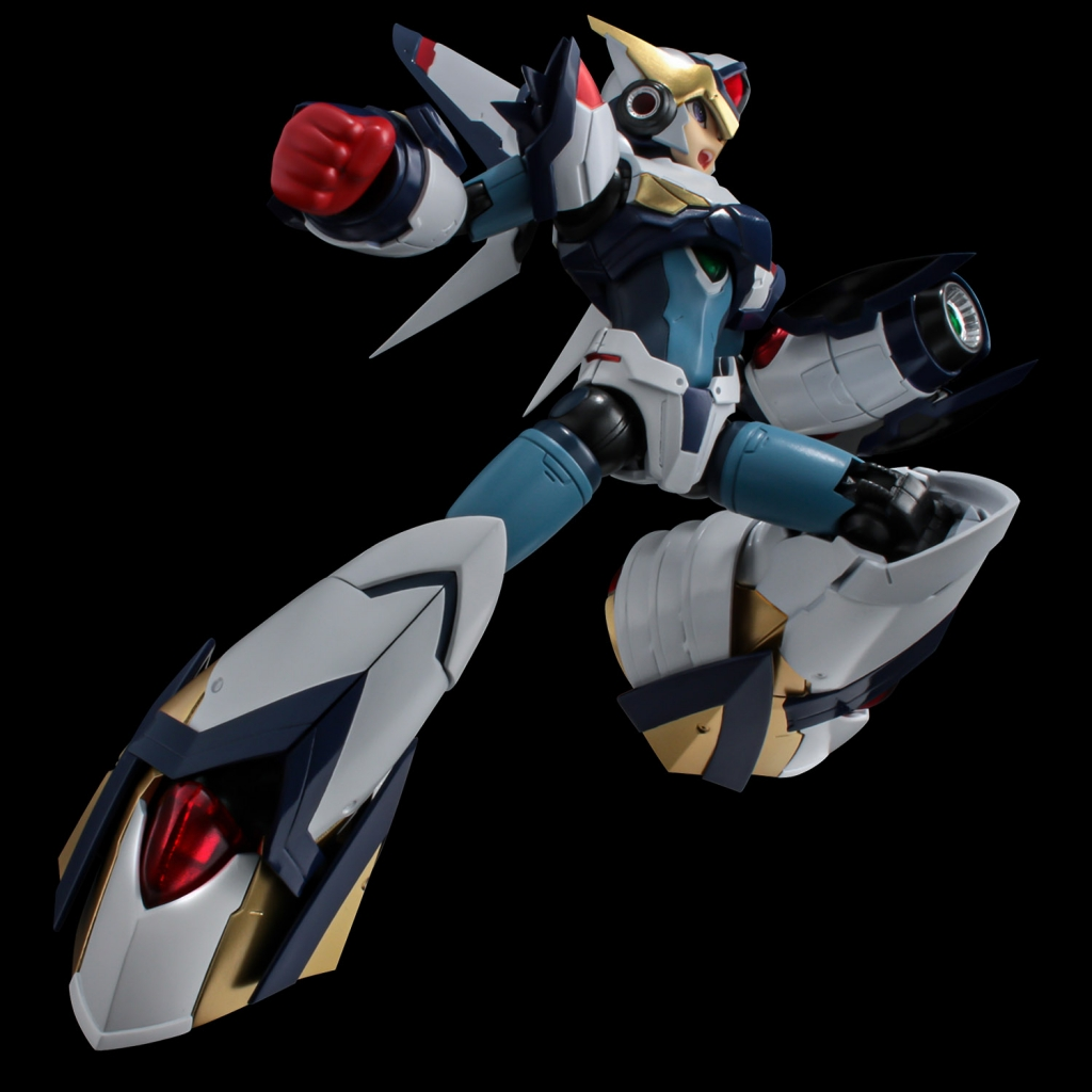 Riobot Mega Man X Falcon Armor Figure