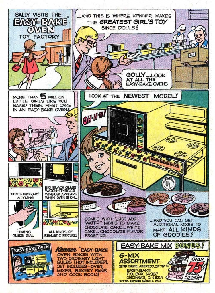 Ad: Sally Visits The Easy-Bake Oven Toy Factory