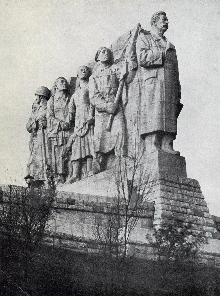 Stalin's Monument (Prague, Czechoslovakia)