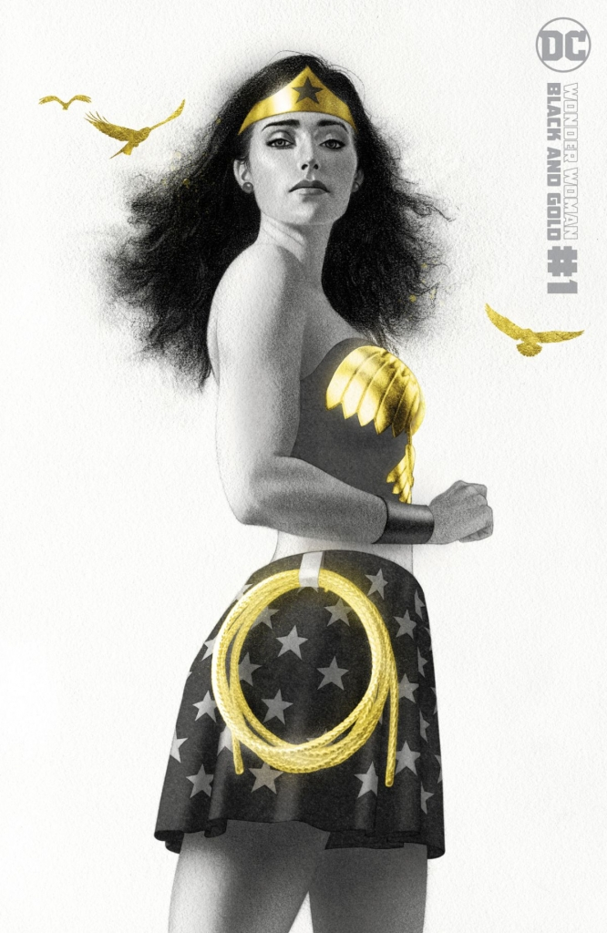 Wonder Woman: Black and Gold, Issue 1 Variant Cover by Joshua Middleton