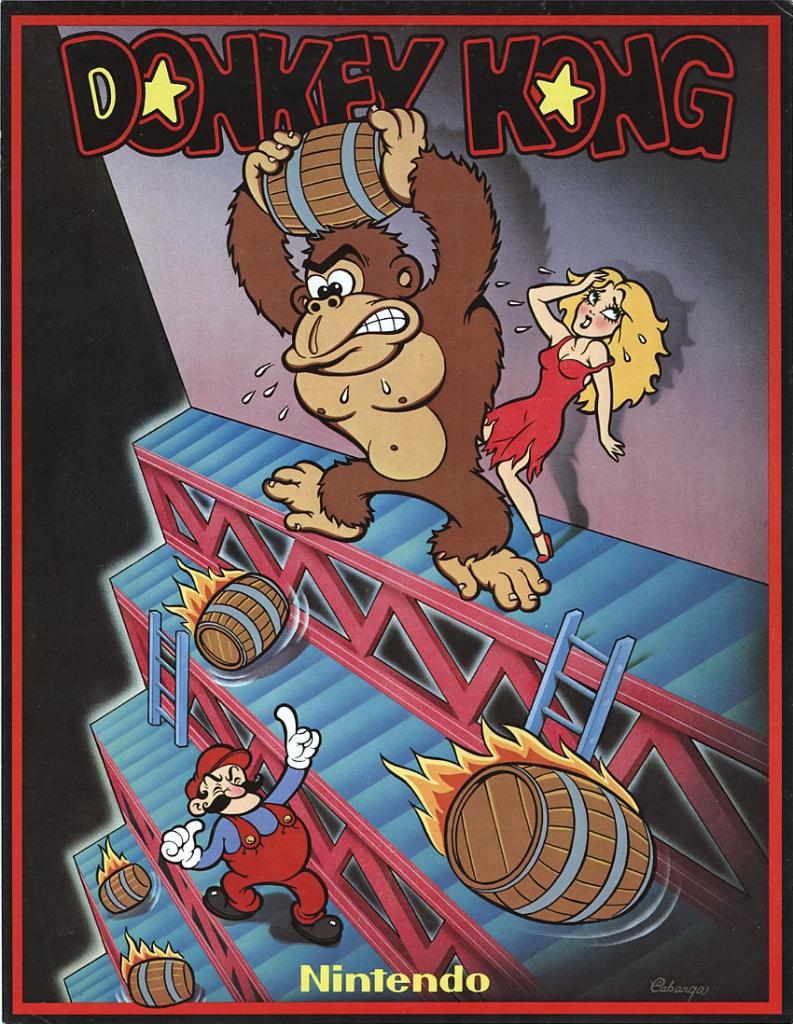 Donkey Kong Arcade Flyer, 1981