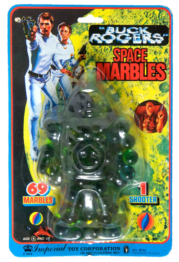 Buck Rogers Space Marbles