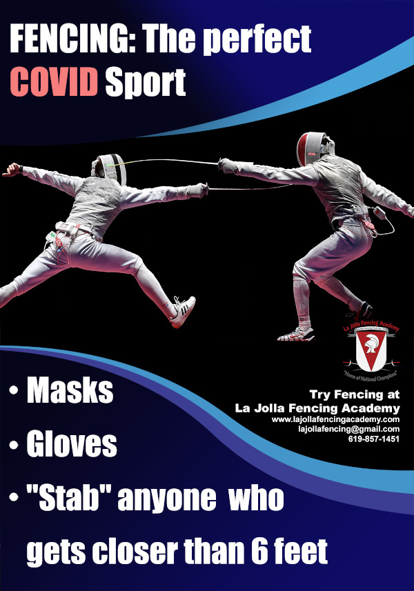 Fencing: The Perfect COVID Sport
