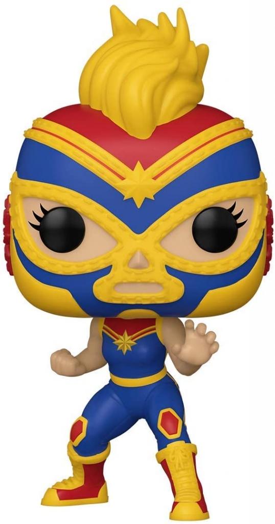 Funko Pop! Marvel Lucha Libre - Captain Marvel
