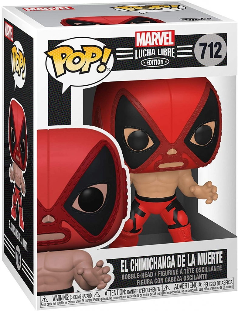 Funko Pop! Marvel Lucha Libre - Deadpool