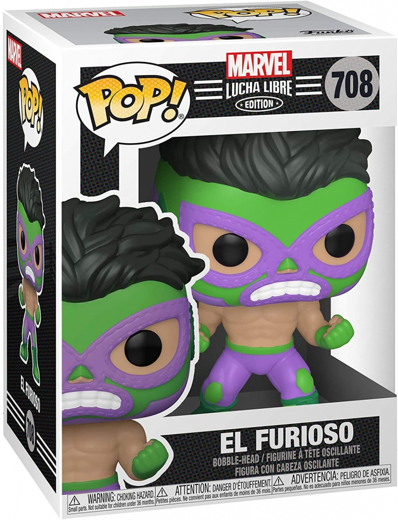 Funko Pop! Marvel Lucha Libre - Hulk