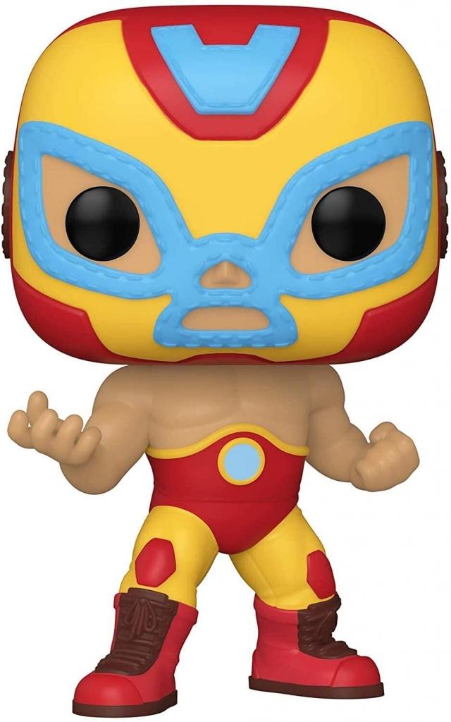 Funko Pop! Marvel Lucha Libre - Iron Man