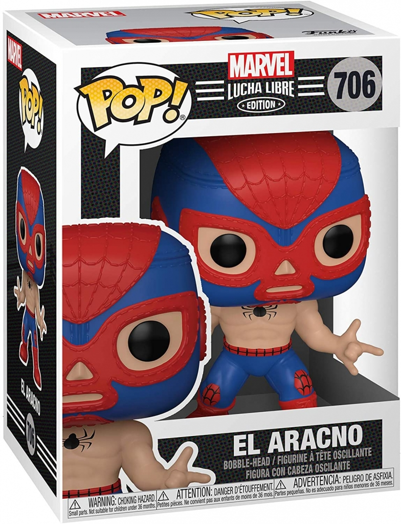 Funko Pop! Marvel Lucha Libre - Spider-Man