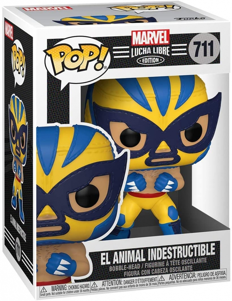 Funko Pop! Marvel Lucha Libre - Wolverine