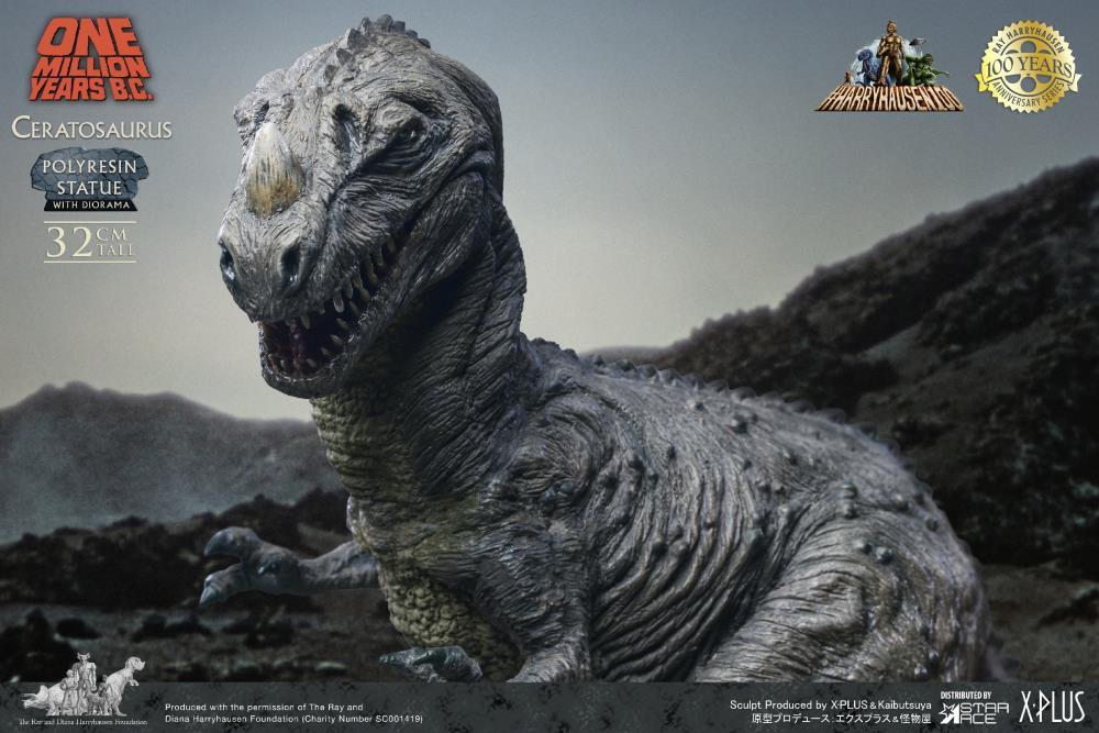 One Million Years B.C. - Ceratosaurus Statue