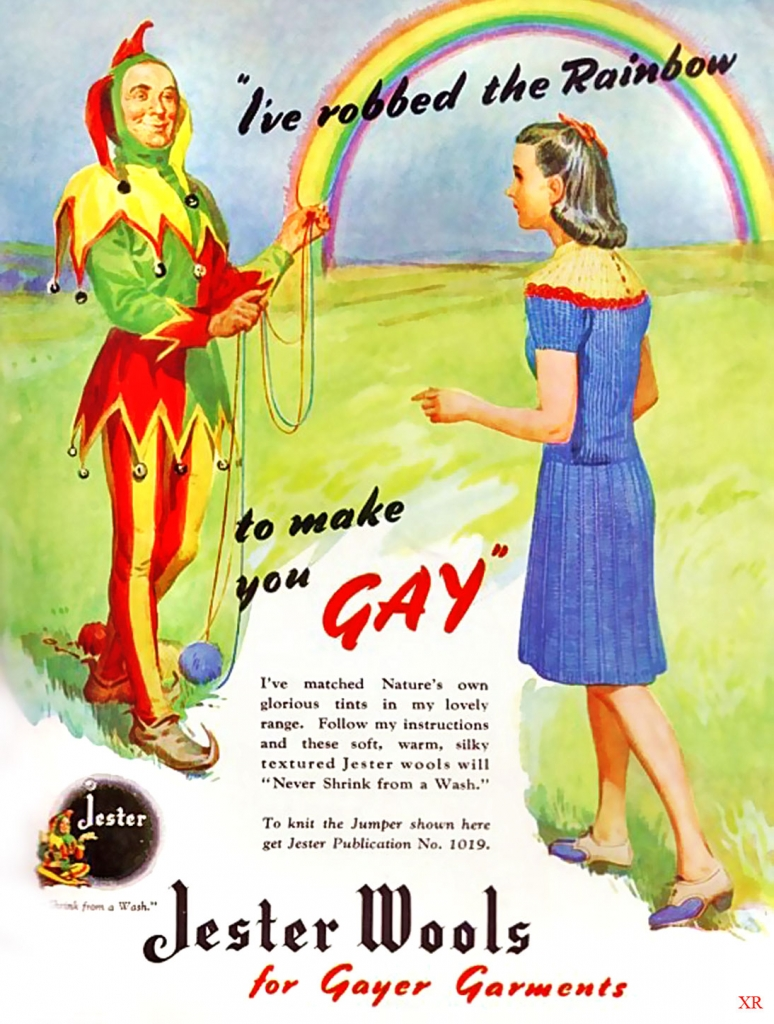 """""""I've robbed the Rainbow to make you GAY"""""""