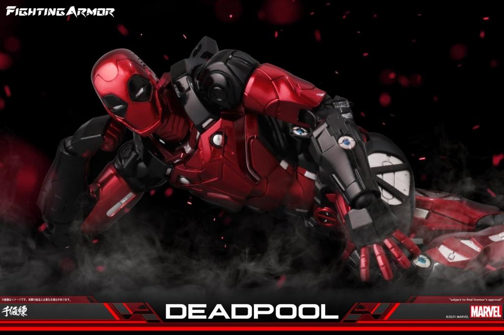 Fighting Armor Deadpool Action Figure