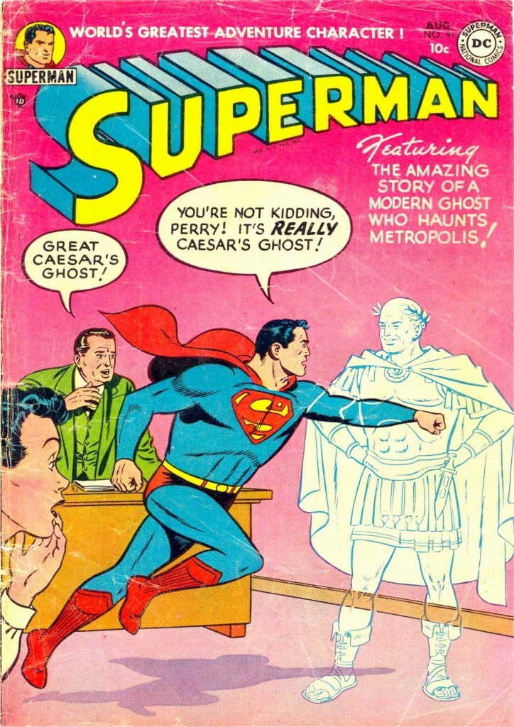 Superman No. 91 Cover - Great Caesar's Ghost!