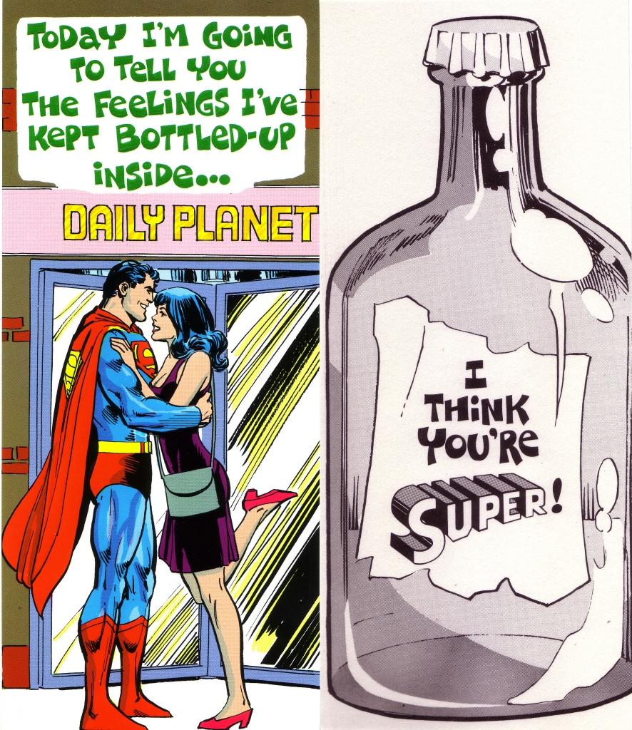 DC Comics Greeting Card - Superman