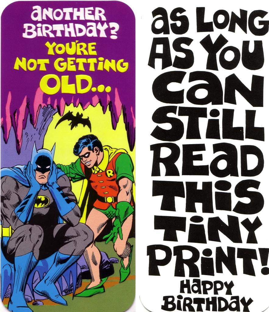 DC Comics Greeting Card - Batman and Robin