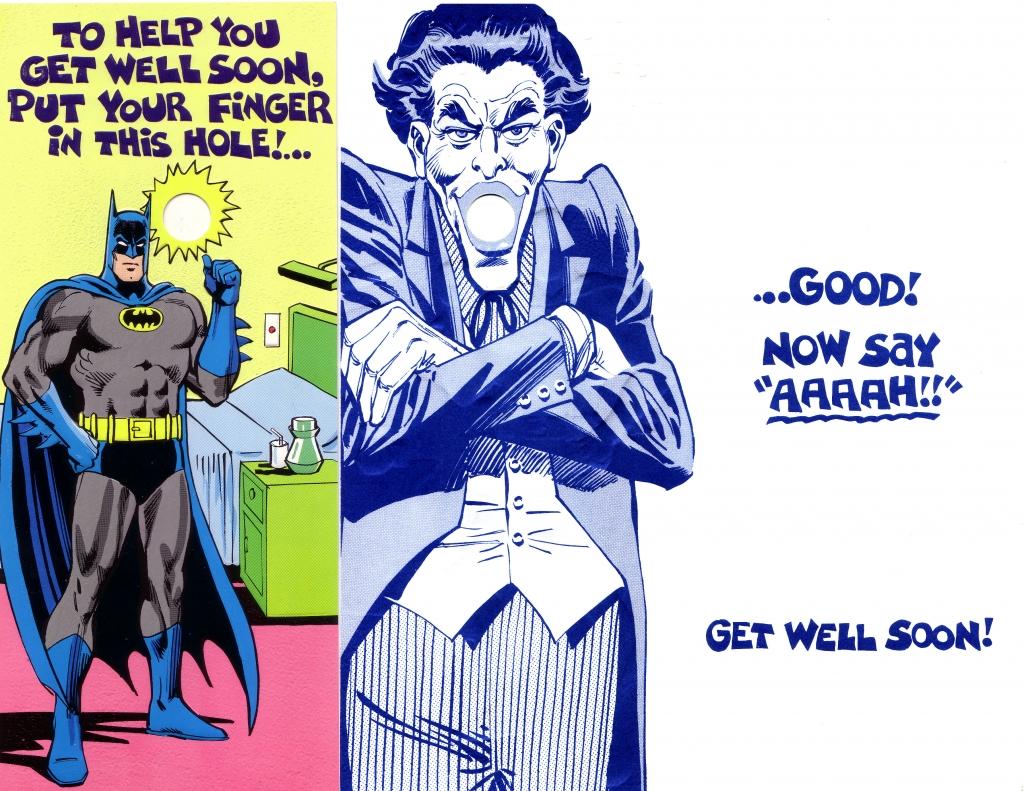 DC Comics Greeting Card - Batman and The Joker