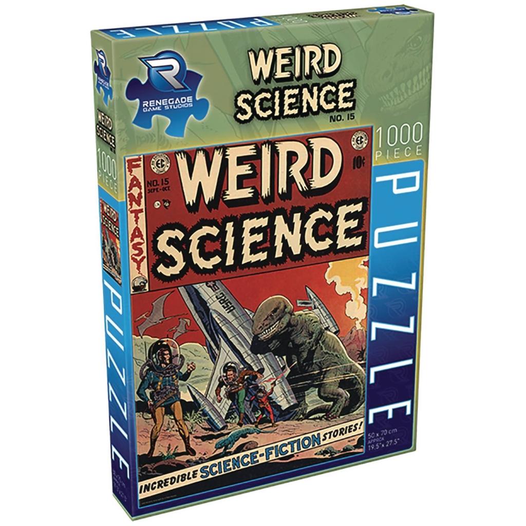 Weird Science No. 15 Jigsaw Puzzle